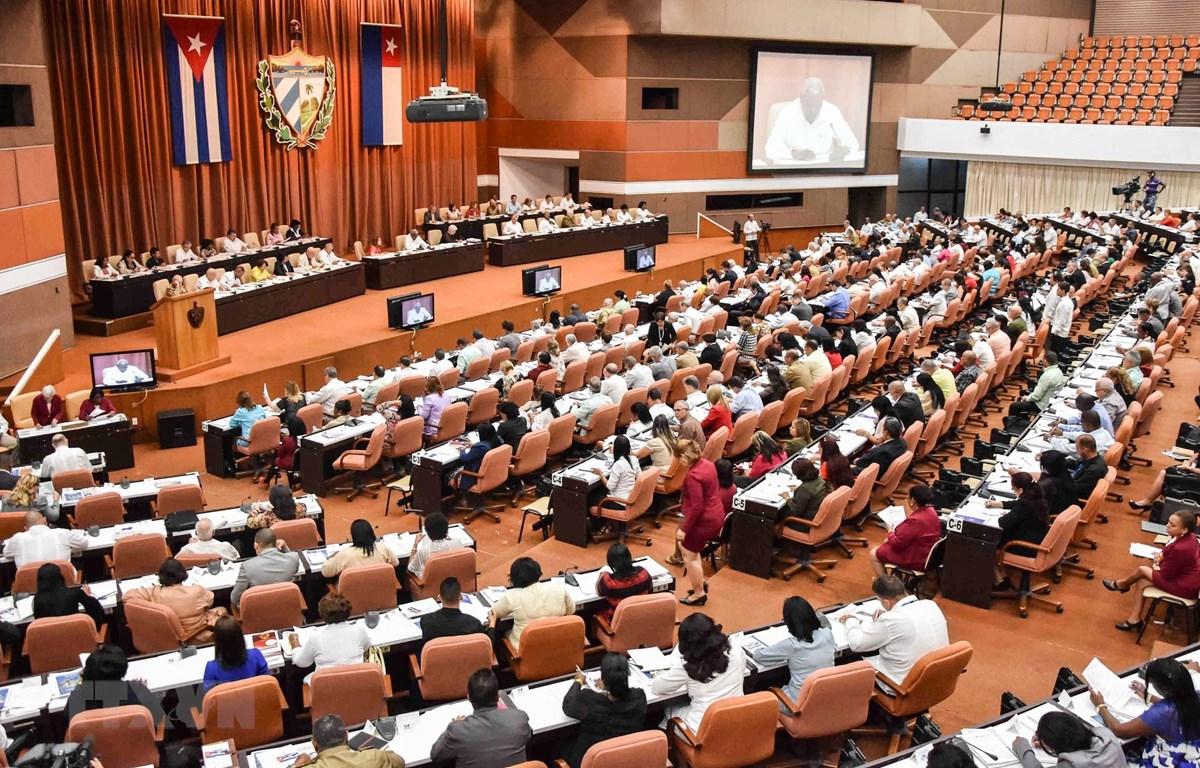 Toàn cảnh một phiên họp Quốc hội Cuba ở La Habana. (Nguồn: AFP/TTXVN)