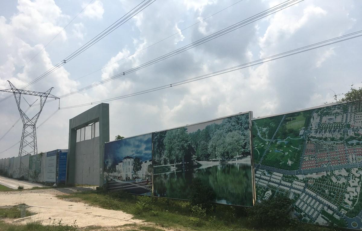 Dự án khu đô thị-thương mại-dịch vụ Tân Phú. (Ảnh: Nguyễn Văn Việt/TTXVN)
