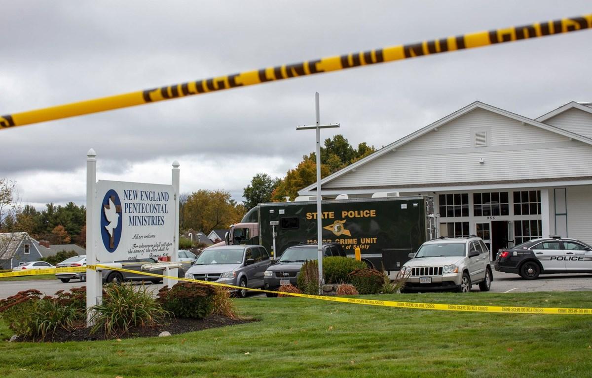 Khu vực hiện trường vụ xả súng. (Nguồn: nytimes.com)