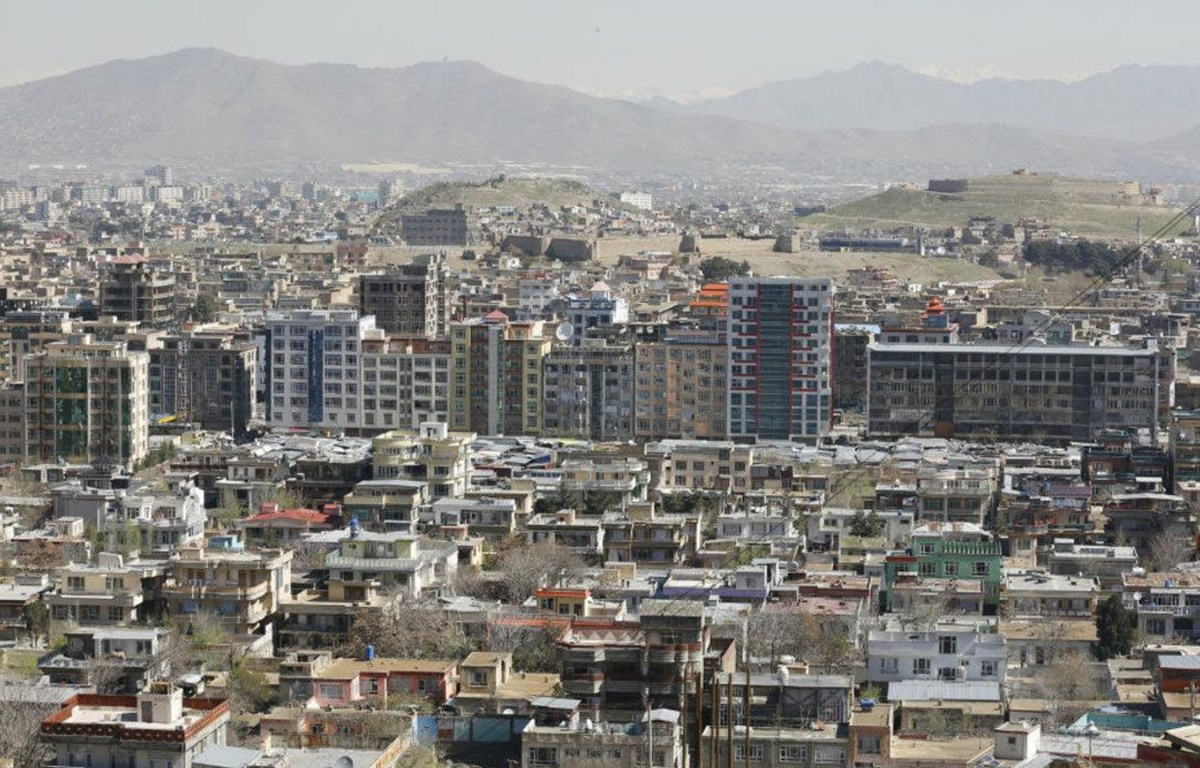 Thủ đô Kabul của Afghanistan. (Nguồn: peacekeeping.un.org)