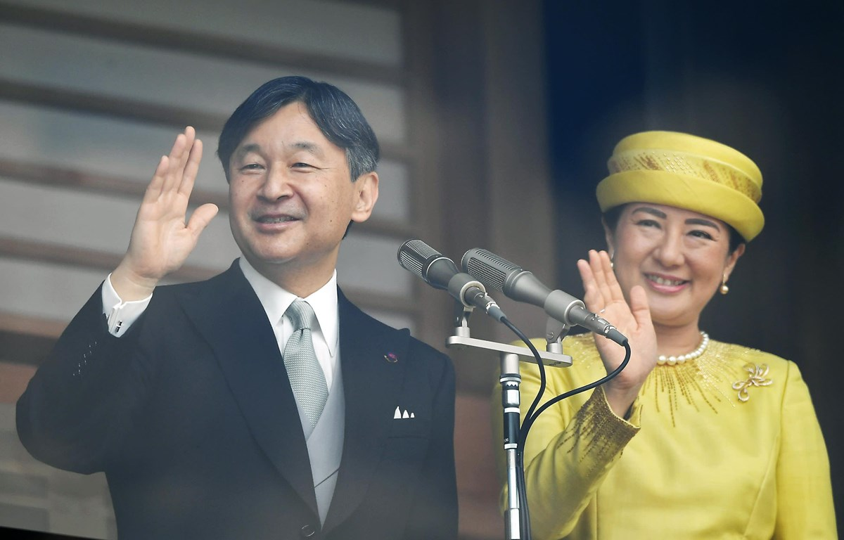 Nhà vua Nhật Bản Naruhito và Hoàng hậu Masako. (Nguồn: asia.nikkei.com)