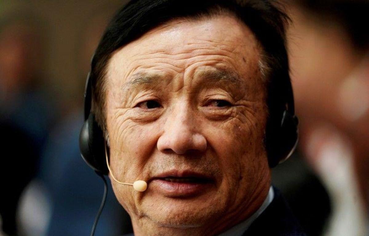 Nhà sáng lập tập đoàn công nghệ khổng lồ Huawei Nhậm Chính Phi. (Nguồn: Reuters)