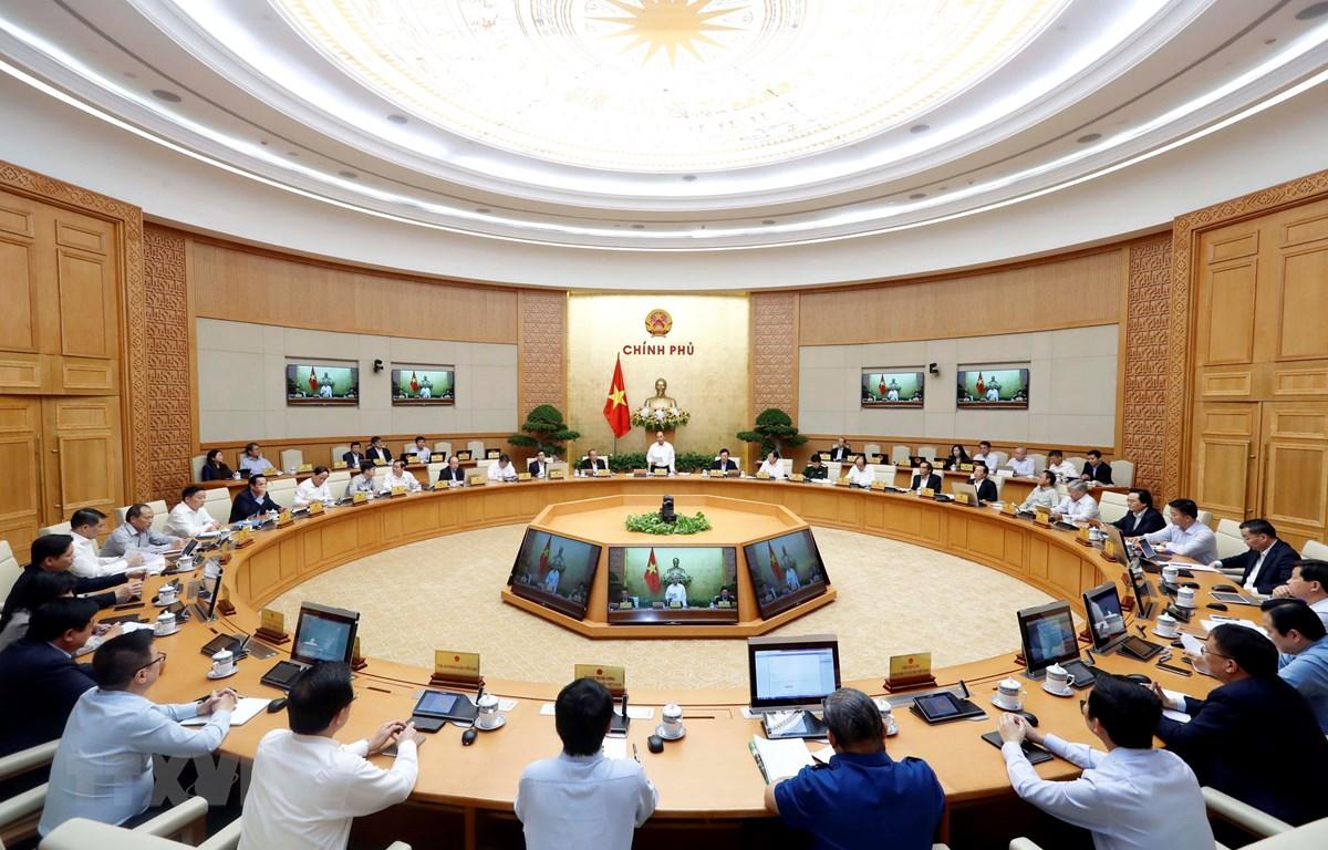 Phiên họp Chính phủ thường kỳ tháng 10/2019. (Ảnh: Thống Nhất/TTXVN)
