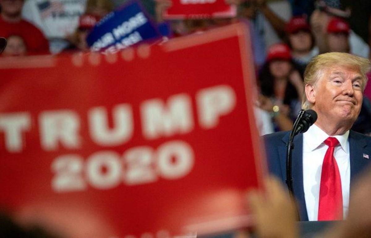 Hơn 300 video trên YouTube về chiến dịch tranh cử Tổng thống Mỹ của ông Trump đã bị xóa không rõ lý do. (Nguồn: EPA)