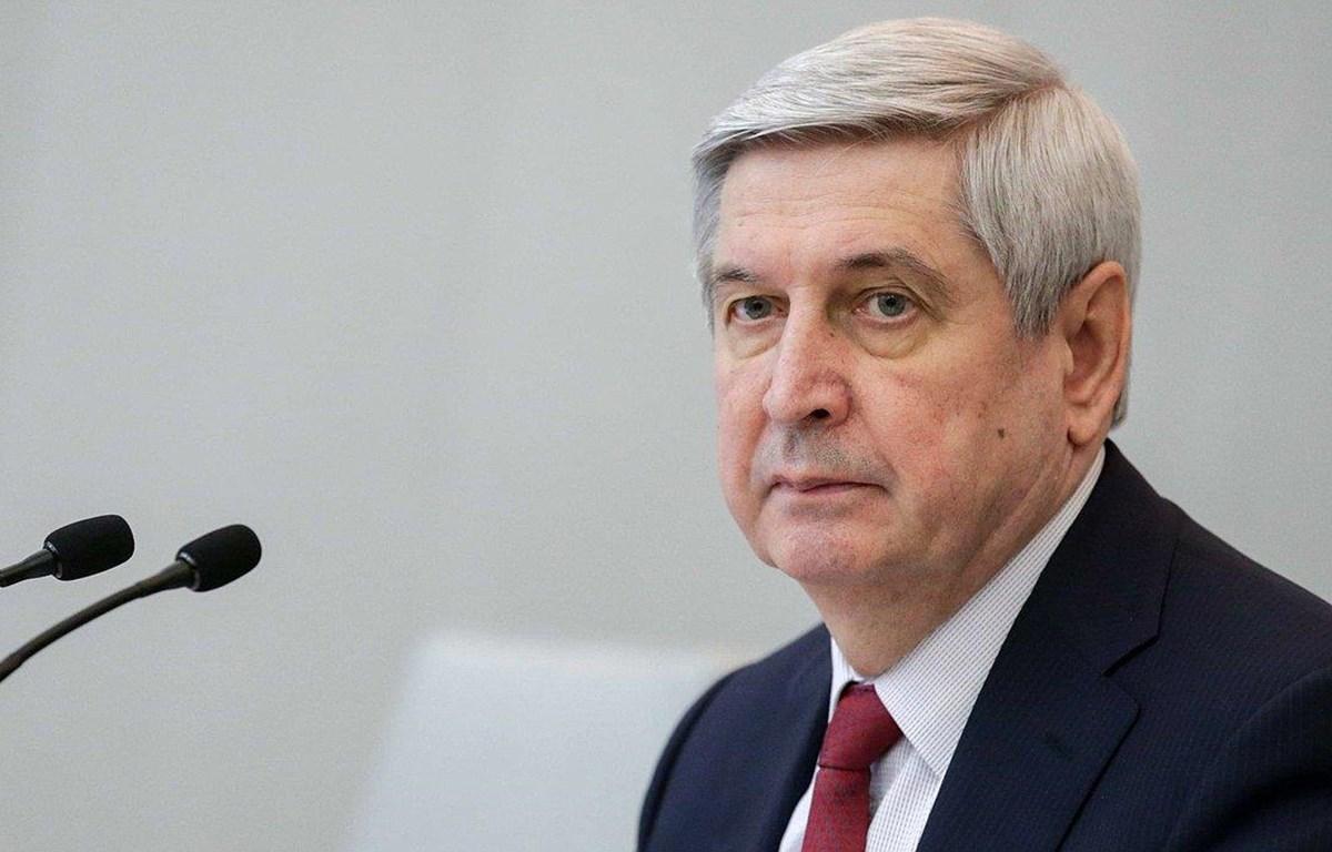 Phó Chủ tịch thứ nhất Duma Quốc gia (Hạ viện) Nga, Phó Chủ tịch Đảng Cộng sản Liên bang Nga, ông Ivan Ivanovich Melnhikov. (Nguồn: duma.gov.ru)