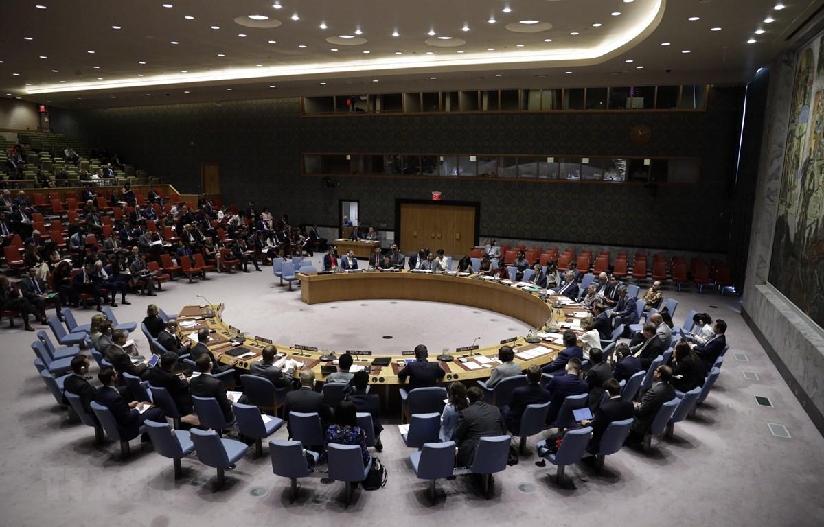 Hội đồng Bảo an Liên hợp quốc. (Nguồn: TTXVN)