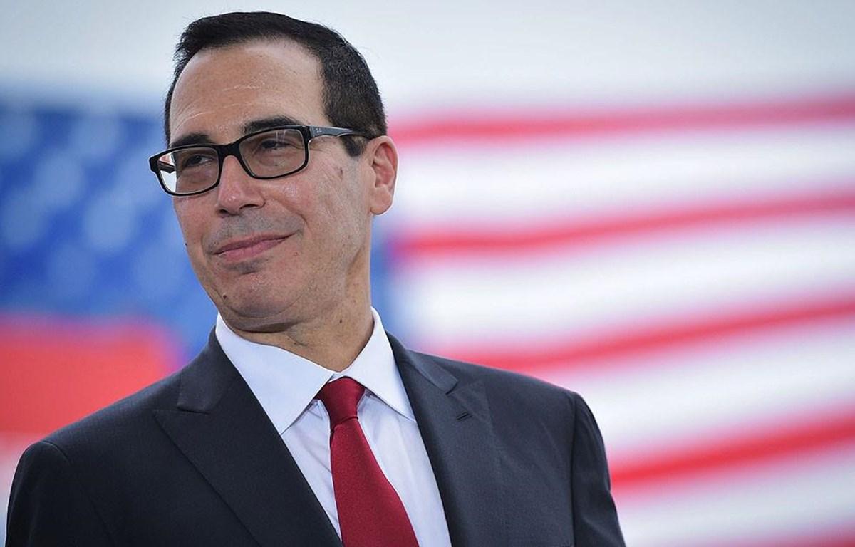 Bộ trưởng Tài chính Mỹ Steven Mnuchin. (Nguồn: Getty Images)