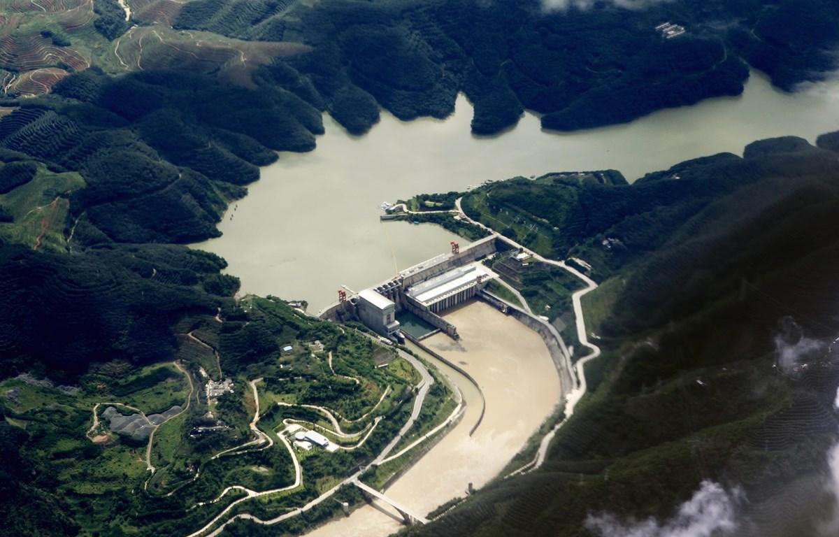 Đập Cảnh Hồng (Trung Quốc). (Nguồn: AP)