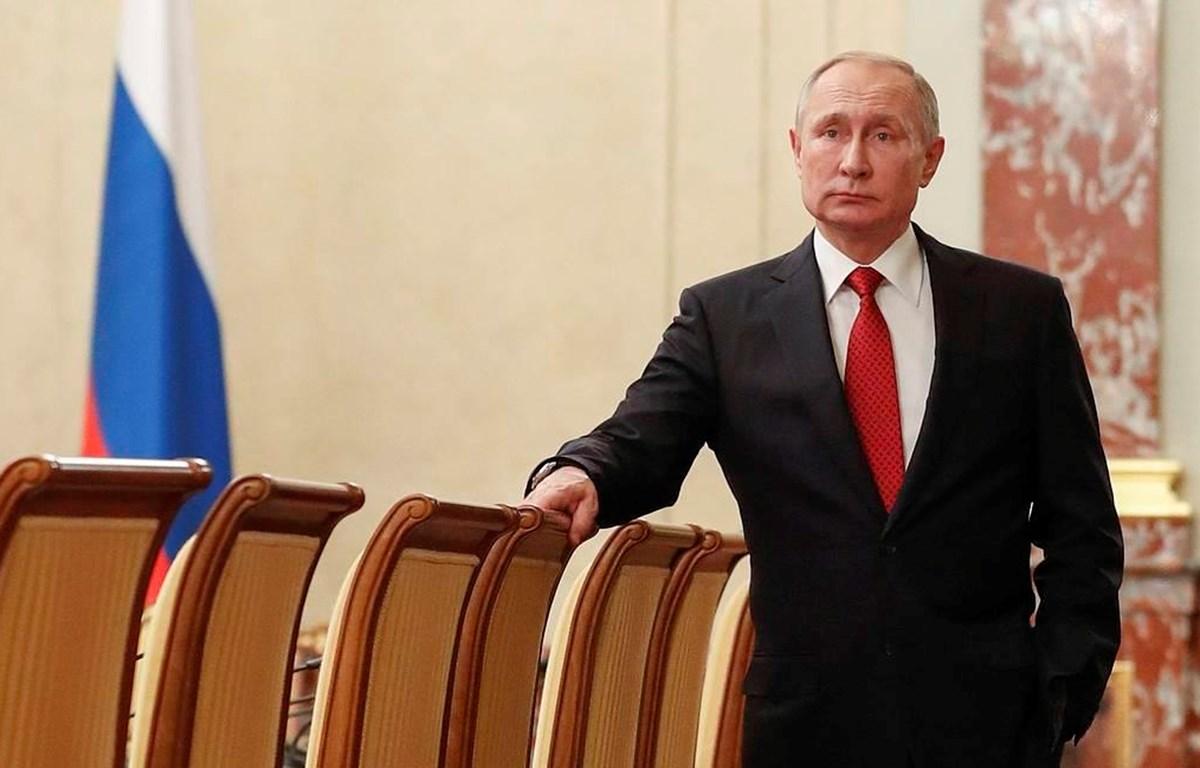 Tổng thống Nga Vladimir Putin. (Nguồn: TASS)