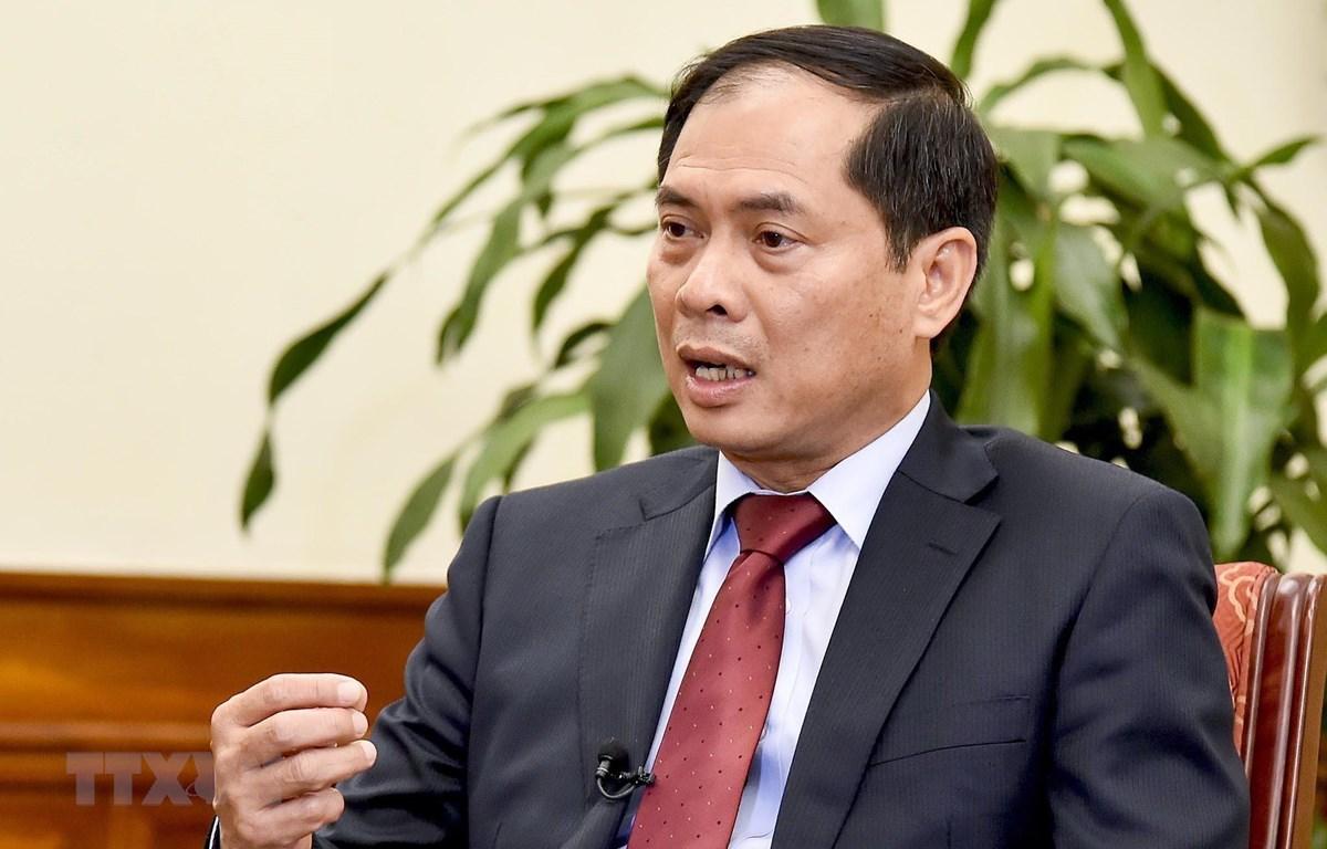 Thứ trưởng Thường trực Bộ Ngoại giao Bùi Thanh Sơn. (Nguồn: TTXVN)