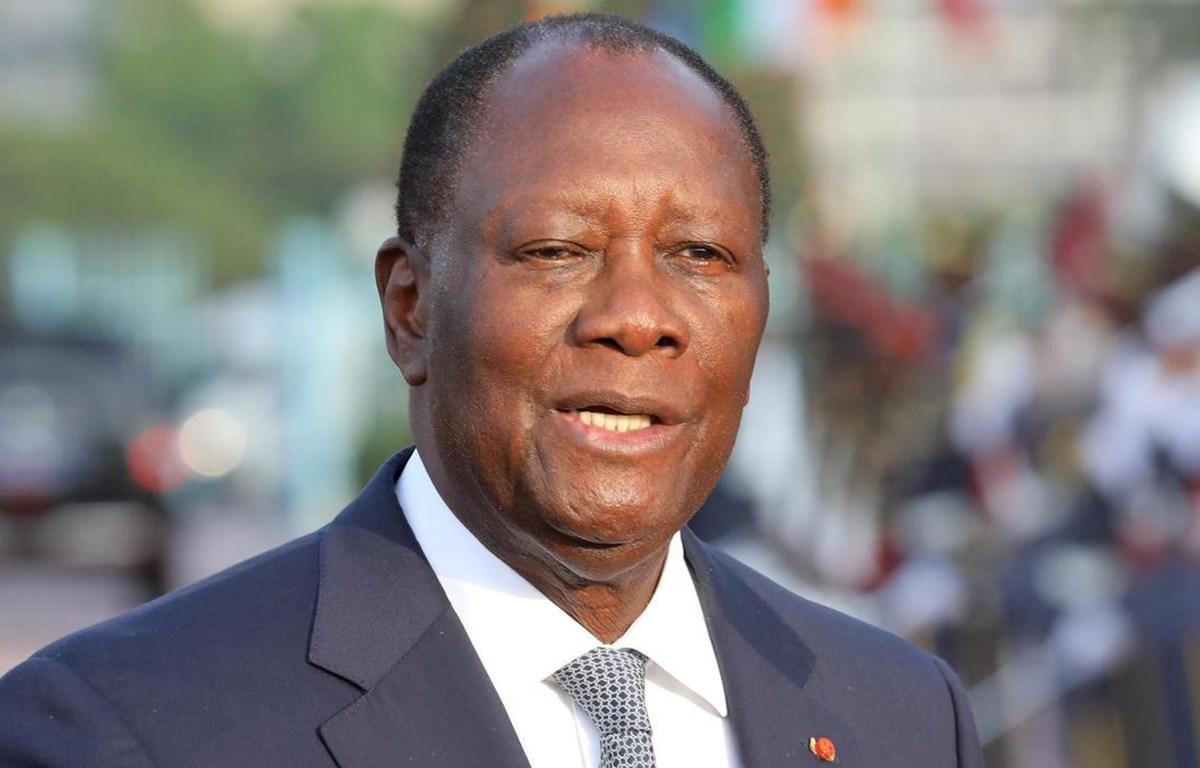 Tổng thống Alassane Ouattara. (Nguồn: AFP)