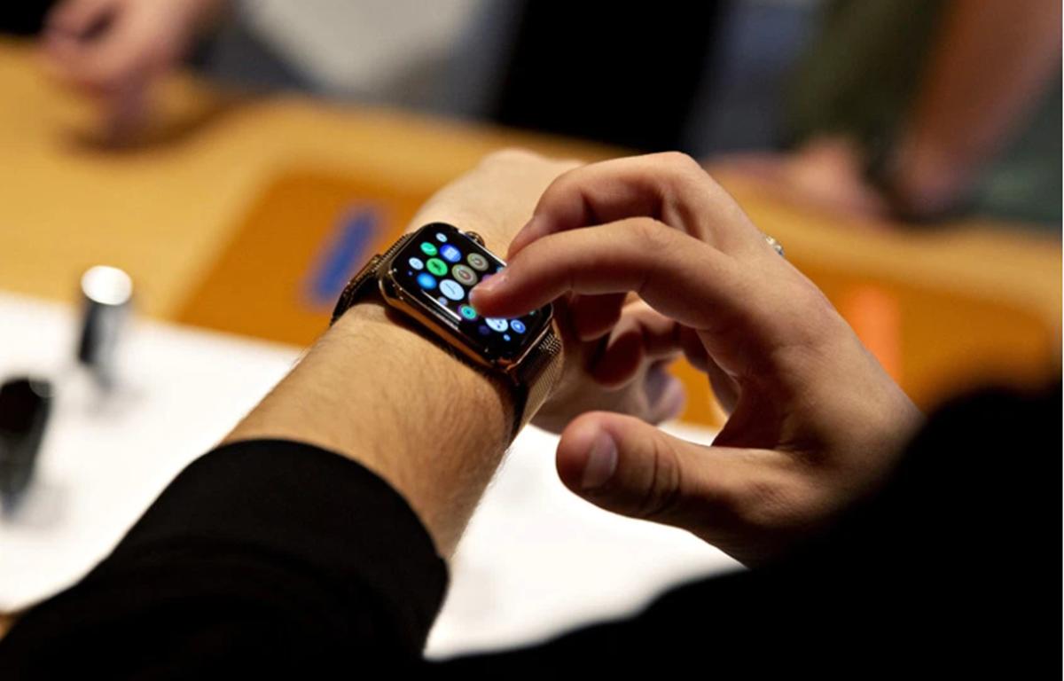 Đồng hồ thông minh Apple Watch. (Nguồn: Getty Images)