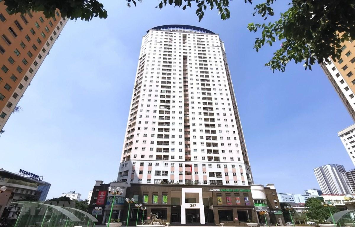 Một tòa chung cư ở Hà Nội. (Ảnh: Thành Đạt/TTXVN)