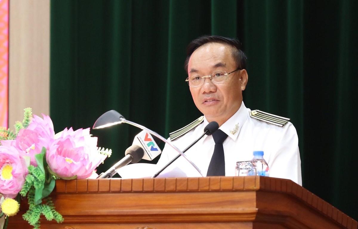 Phó Tổng Kiểm toán Nhà nước Đoàn Xuân Tiên. (Ảnh: PV/Vietnam+)