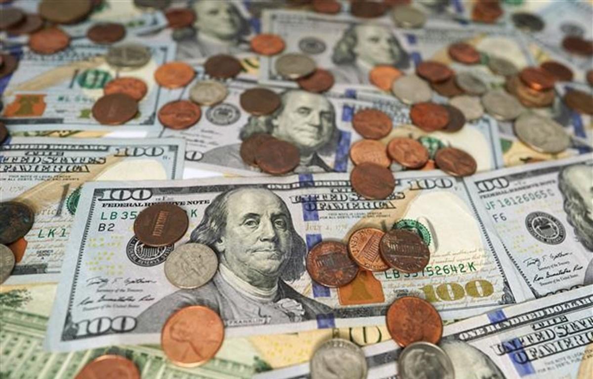Đồng đô la Mỹ. Ảnh (THX/TTXVN)
