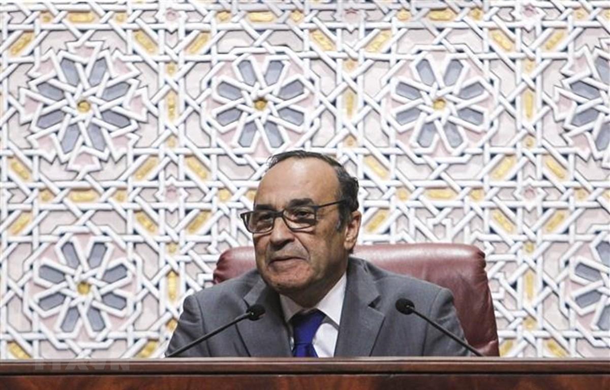 Chủ tịch Hạ viện Maroc Habib El Malki. (Ảnh: AFP/ TTXVN)