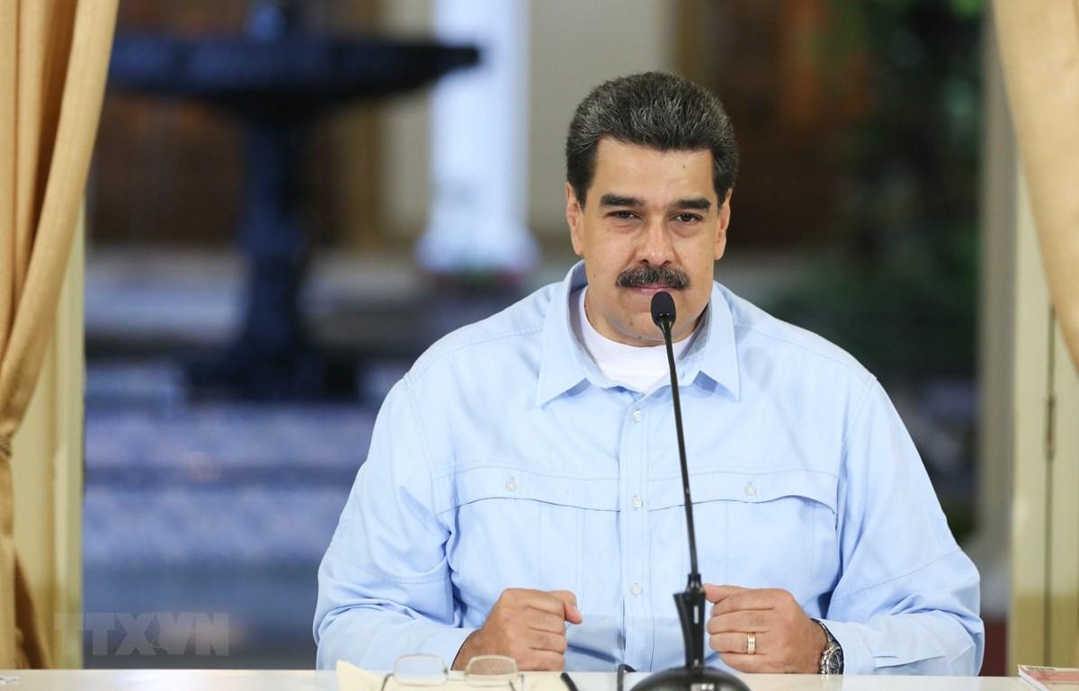 Tổng thống Venezuela Nicolas Maduro. (Nguồn: AFP/TTXVN)