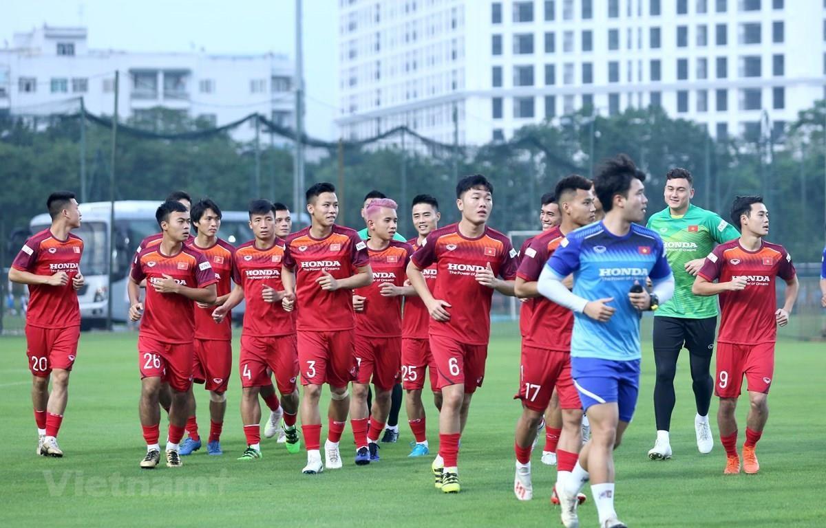 Đội tuyển Việt Nam. (Nguồn: Nguyên An/Vietnam+)