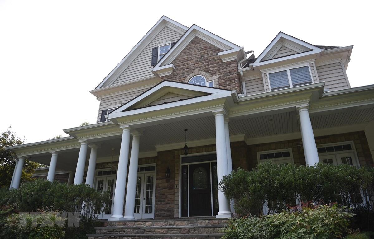 Trong ảnh: Nhà riêng của ông Oleg Smolenkov, người được cho là điệp viên CIA, tại Stafford, bang Virginia ngày 10/9/2019. (Nguồn: AFP/TTXVN)
