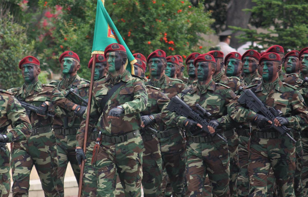 Quân đội Azerbaijan. (Nguồn: wikipedia)