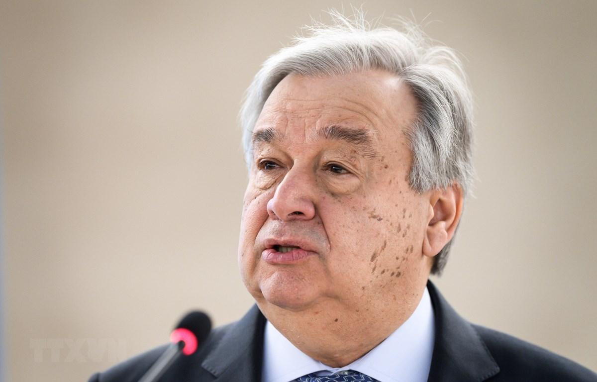 Tổng thư ký Antonio Guterres. (Nguồn: AFP/TTXVN)