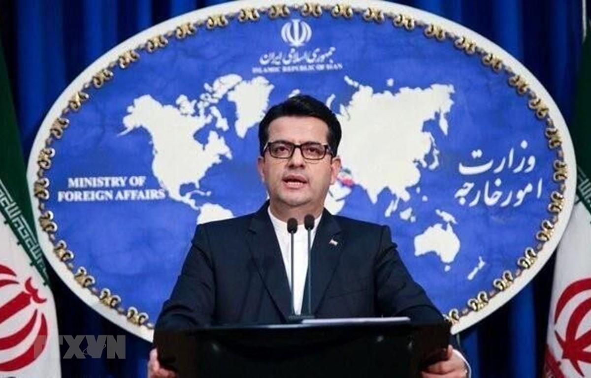 Người phát ngôn Bộ Ngoại giao Iran Abbas Mousavi. (Nguồn: IRNA/TTXVN)