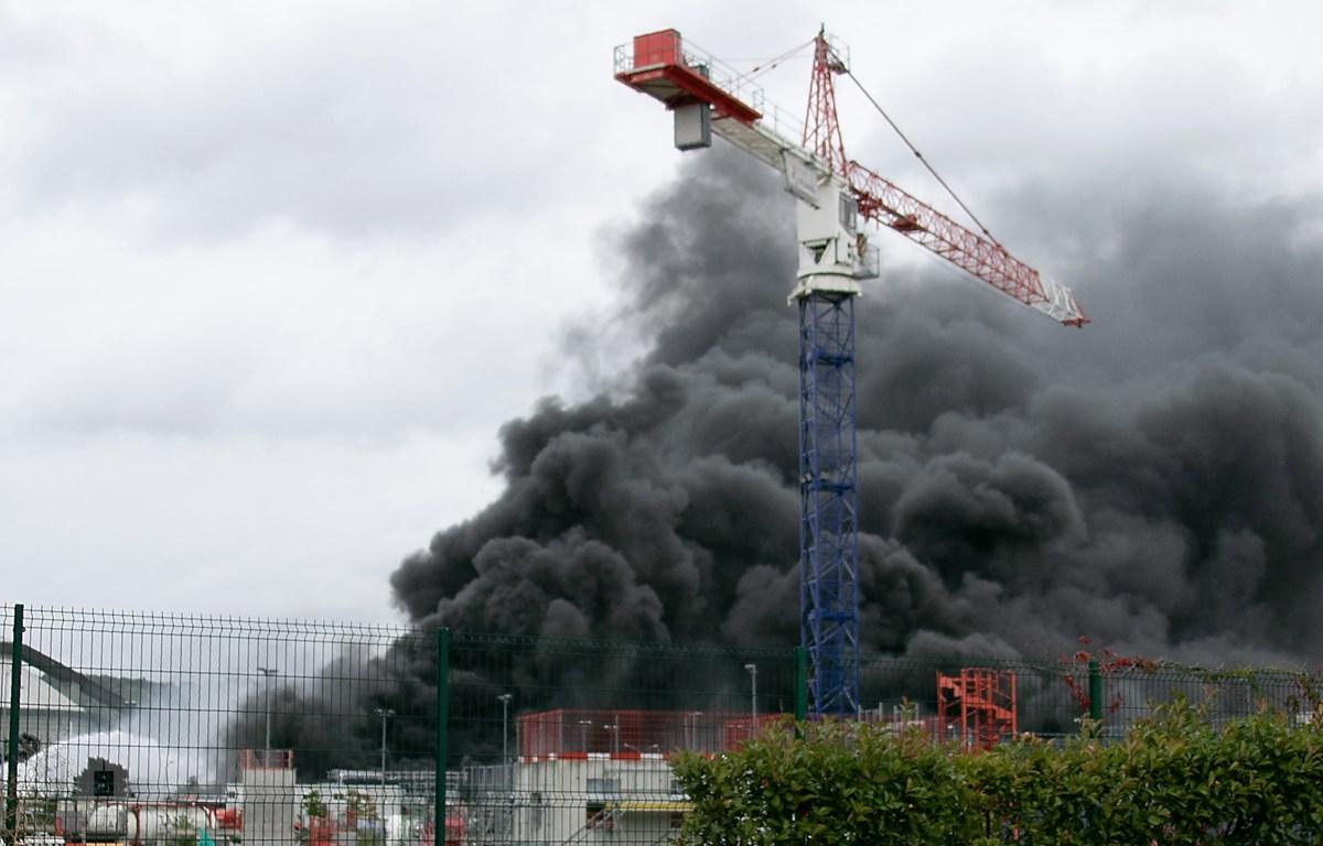 Hiện trường vụ cháy. (Nguồn: AFP/TTXVN)