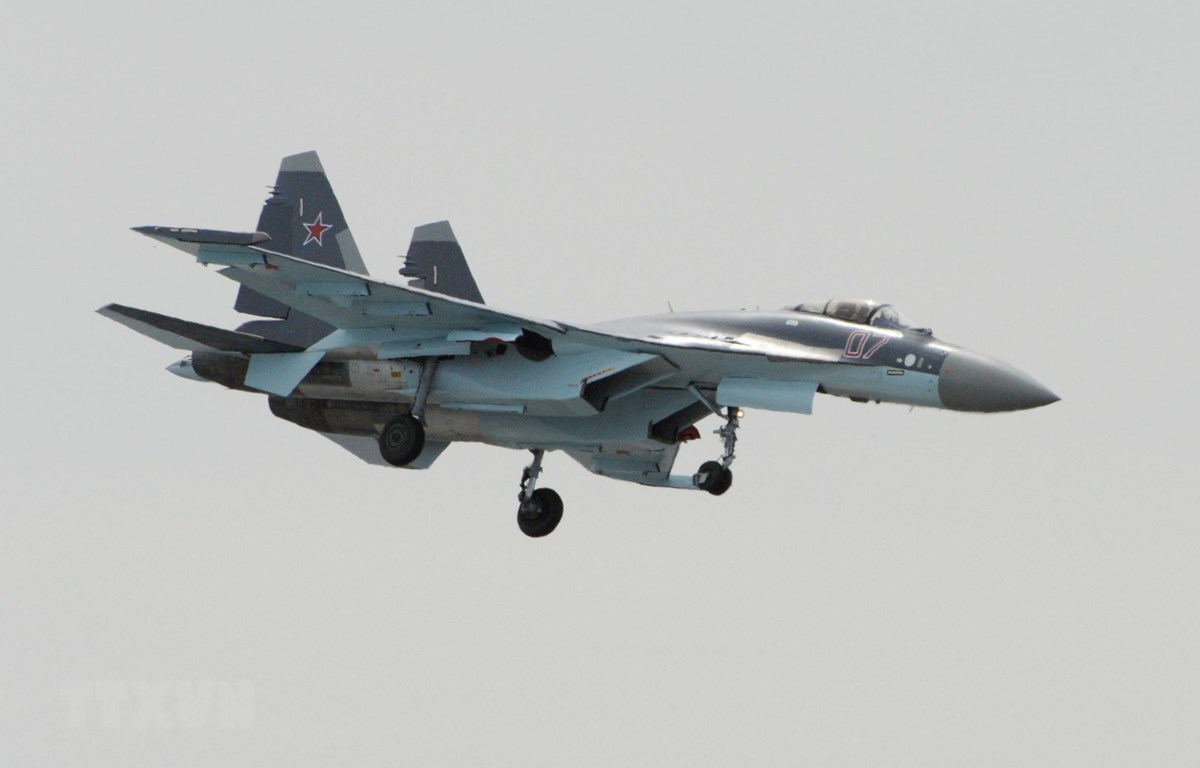 Máy bay chiến đấu Su-35 của Nga. (Nguồn: AFP/TTXVN)