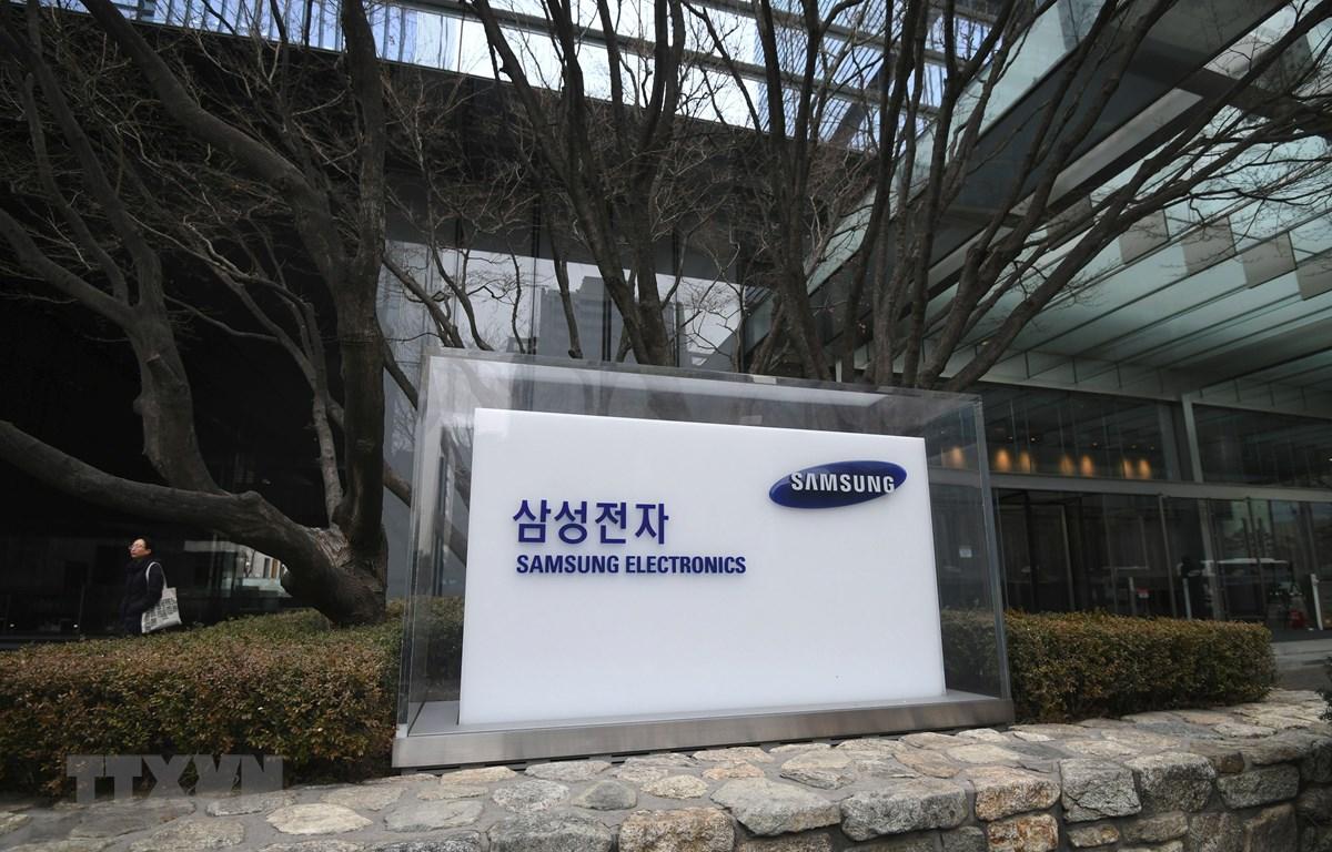 Trong ảnh: Trụ sở Samsung tại Seoul, Hàn Quốc. (Nguồn: AFP/TTXVN)