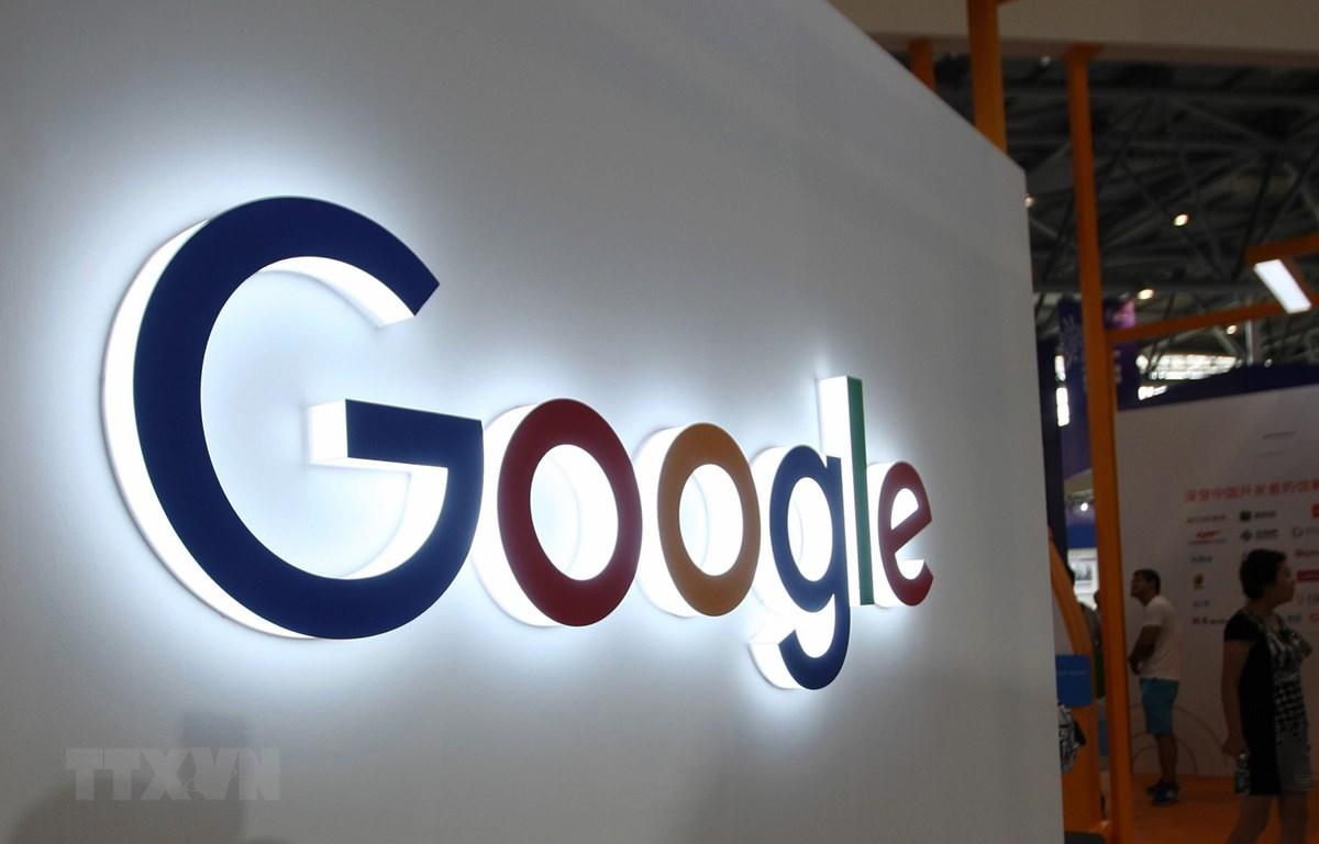 Trong ảnh: Biểu tượng Google. (Nguồn: AFP/TTXVN)
