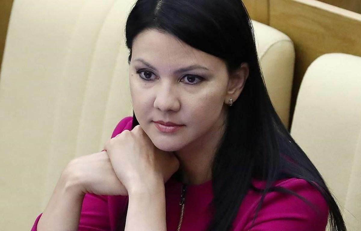 Nữ nghị sỹ Nga Inga Yumasheva bị FBI tạm giữ và thẩm vấn. (Nguồn: Tass)