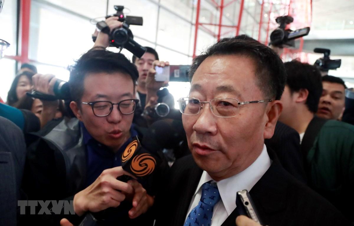 Trưởng phái đoàn đàm phán hạt nhân Triều Tiên Kim Myong-gil. (Nguồn: Yonhap/TTXVN)