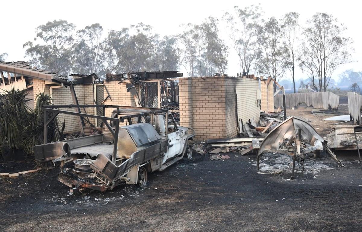 Cháy rừng gây nhiều thiệt hại tại Australia. (Nguồn: theguardian)