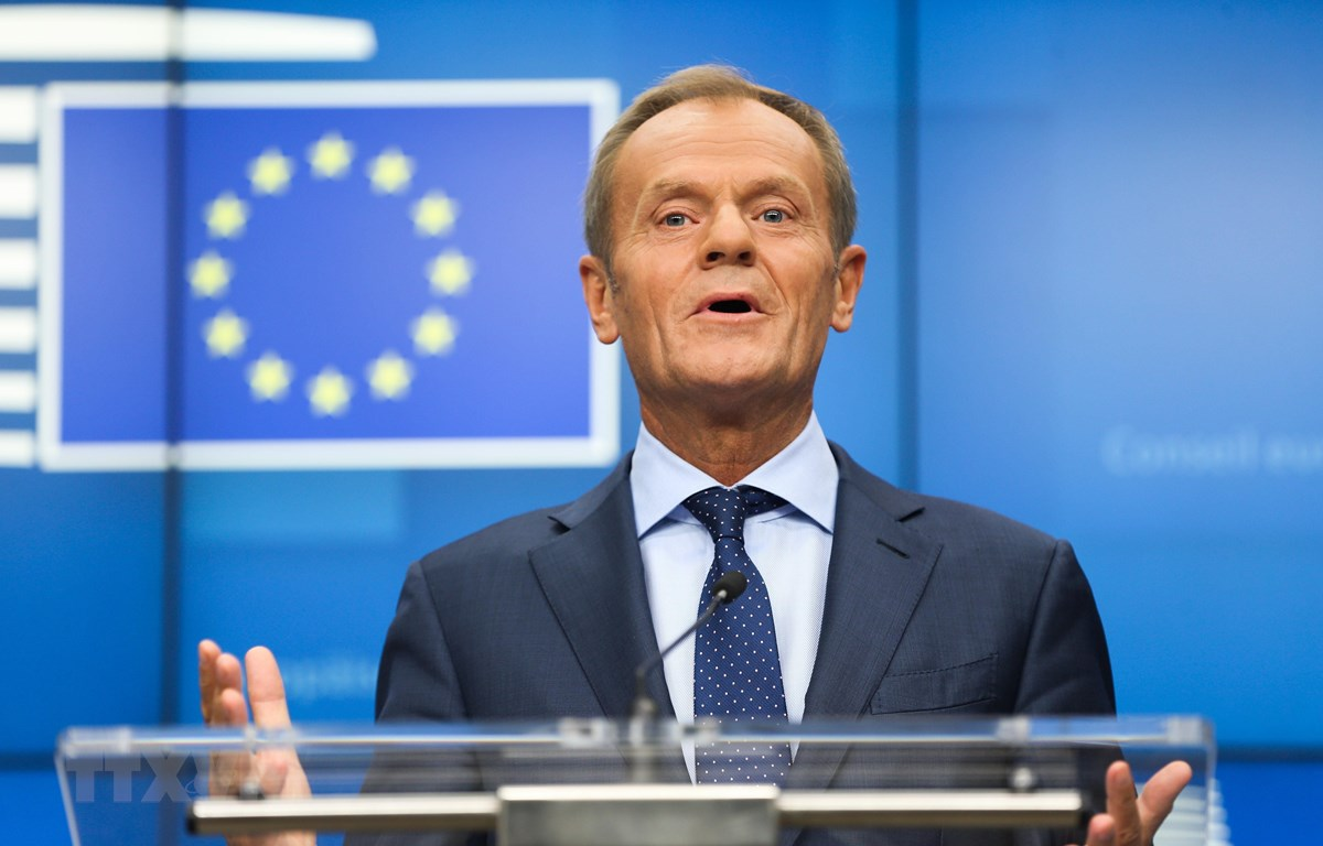 Chủ tịch Hội đồng châu Âu EC Donald Tusk. (Nguồn: THX/TTXVN)