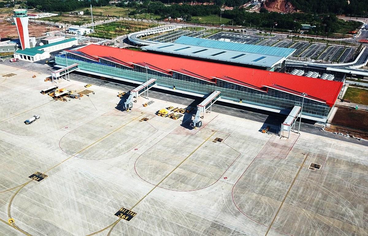 Cảng hàng không quốc tế Vân Đồn. (Ảnh: TTTXVN phát)
