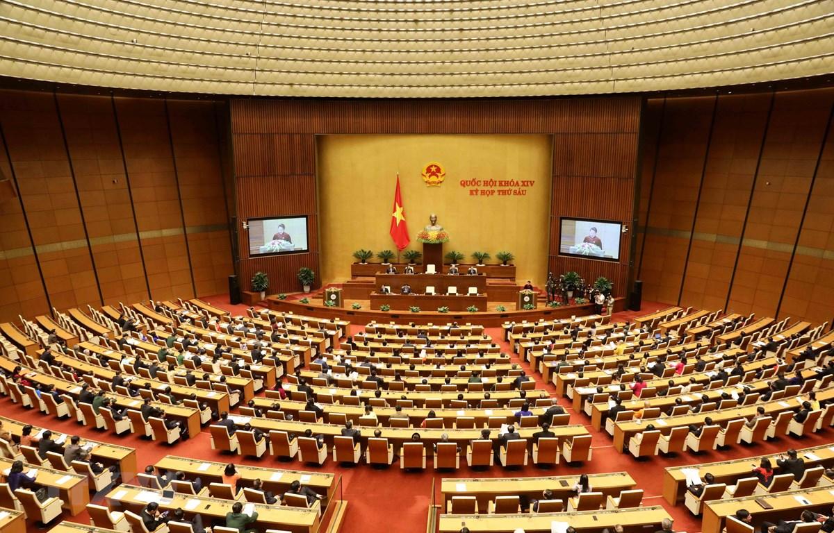 Kỳ họp thứ sáu, Quốc hội khóa XIV. (Ảnh minh họa: Phương Hoa/TTXVN)