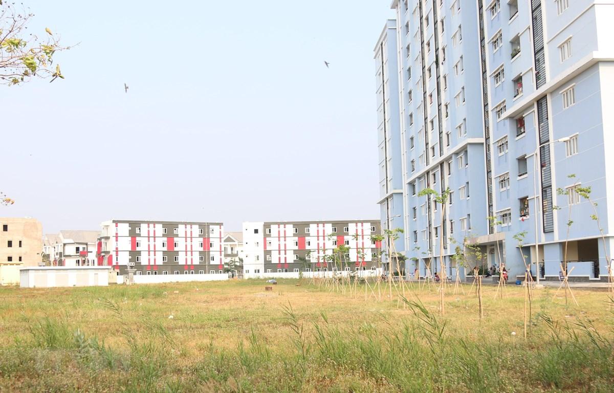 Một góc dự án căn hộ Valencia, quận 9. (Ảnh: Trần Xuân Tình/TTXVN)