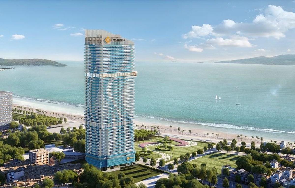 Phối cảnh dự án TMS Hotel Quy Nhon Beach. (Nguồn: Vietnam+)