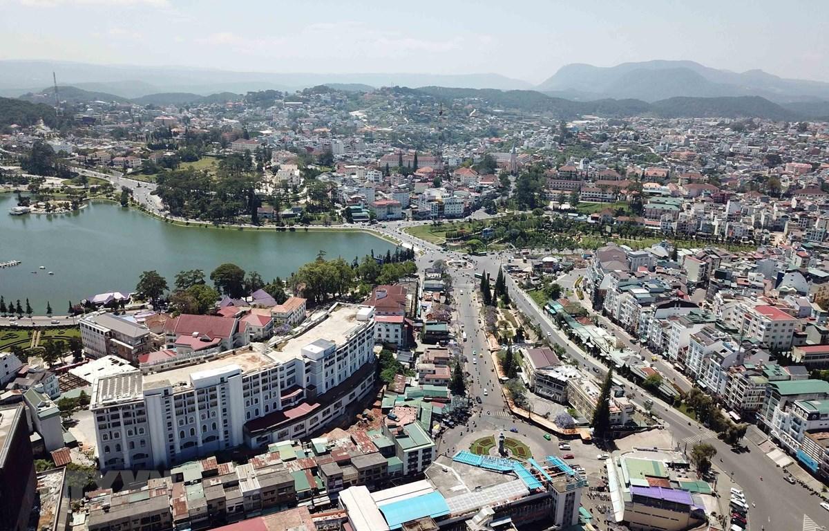 Thành phố Đà Lạt. (Ảnh: Đặng Tuấn/TTXVN)