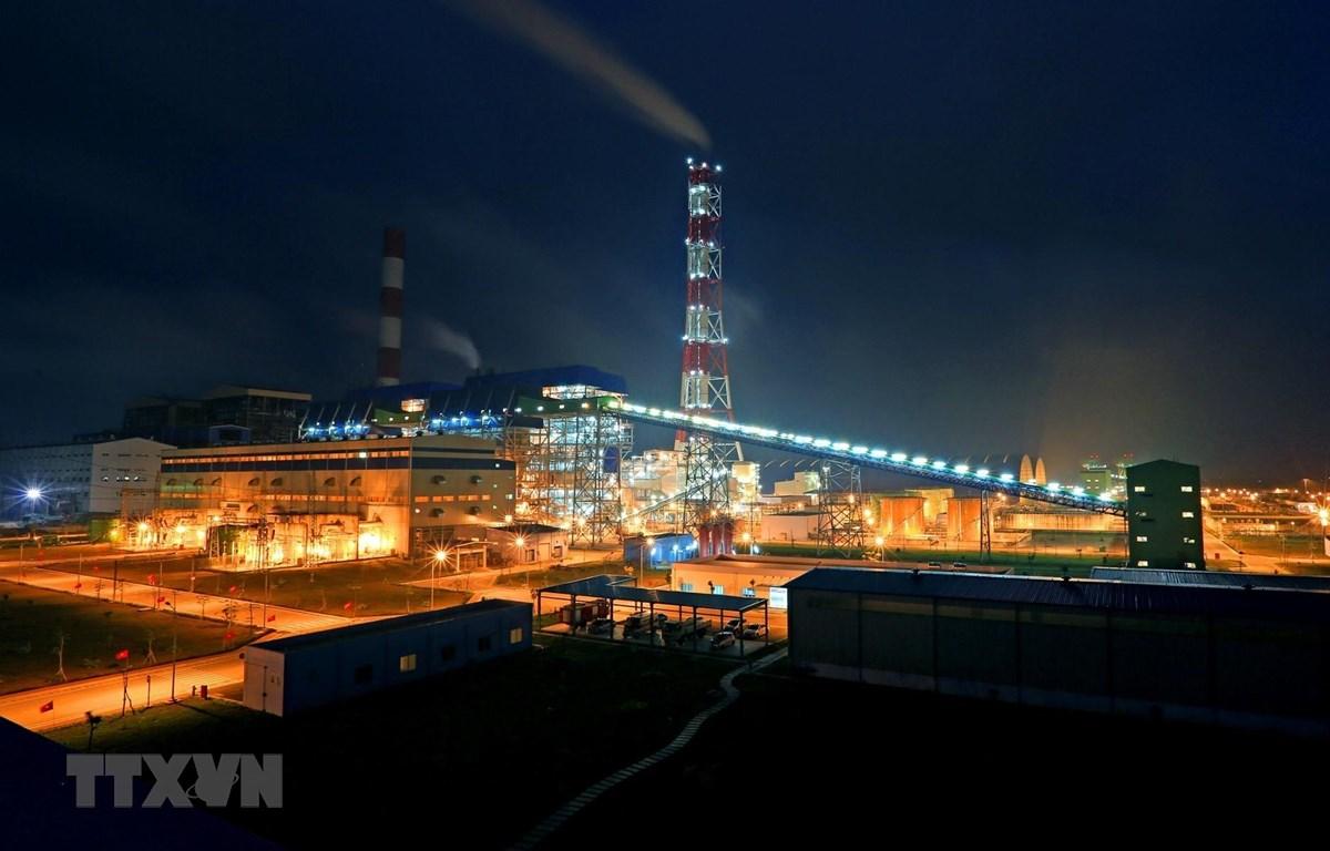 Nhà máy nhiệt điện Thái Bình. (Ảnh: Ngọc Hà/TTXVN))