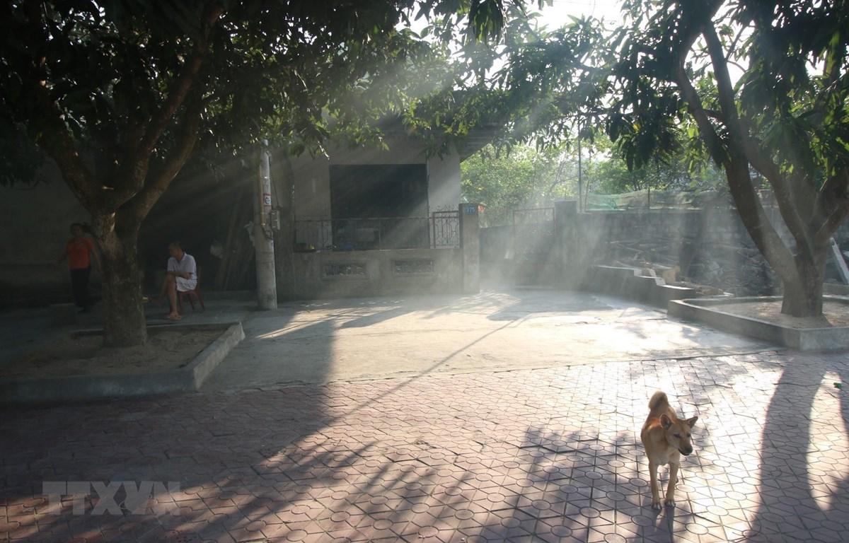 Thời tiết nắng nóng đã diễn ra khốc liệt trên địa bàn Hà Tĩnh. (Ảnh: Duy Khương/TTXVN)