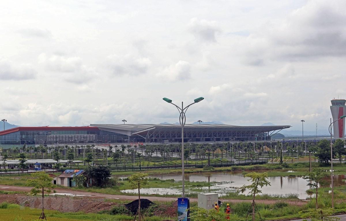Cảng hàng không quốc tế Vân Đồn. (Ảnh: Huy Hùng/TTXVN)