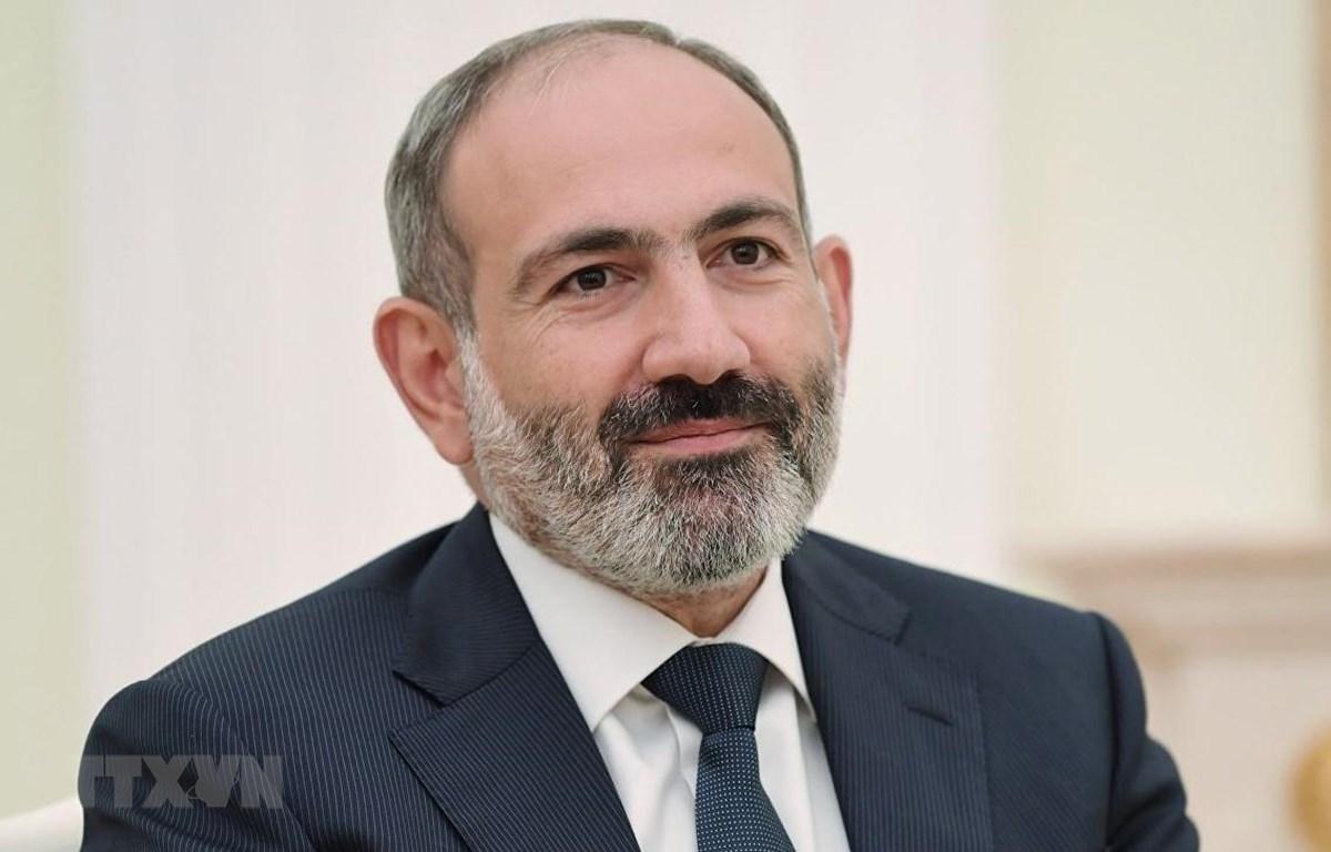 Thủ tướng Cộng hòa Armenia Nikol Pashinyan. (Ảnh: TTXVN phát)