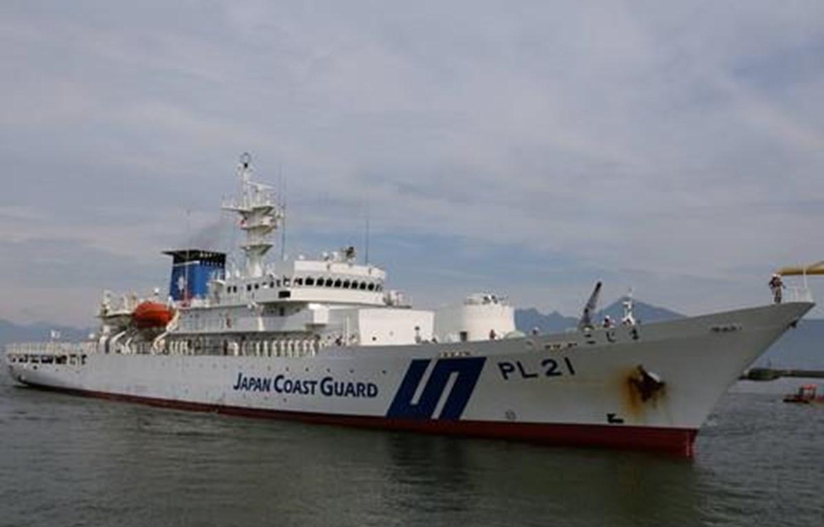 Tàu Lực lượng Bảo vệ bờ biển Nhật Bản cập Cảng quốc tế Đà Nẵng