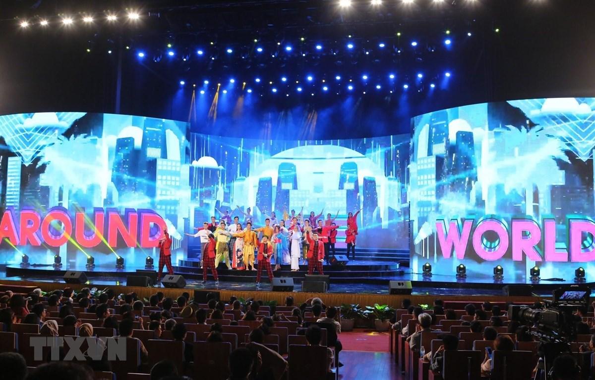 Toàn cảnh Đại Nhạc hội ASEAN-Nhật Bản 2019. (Ảnh: Thành Đạt/TTXVN)