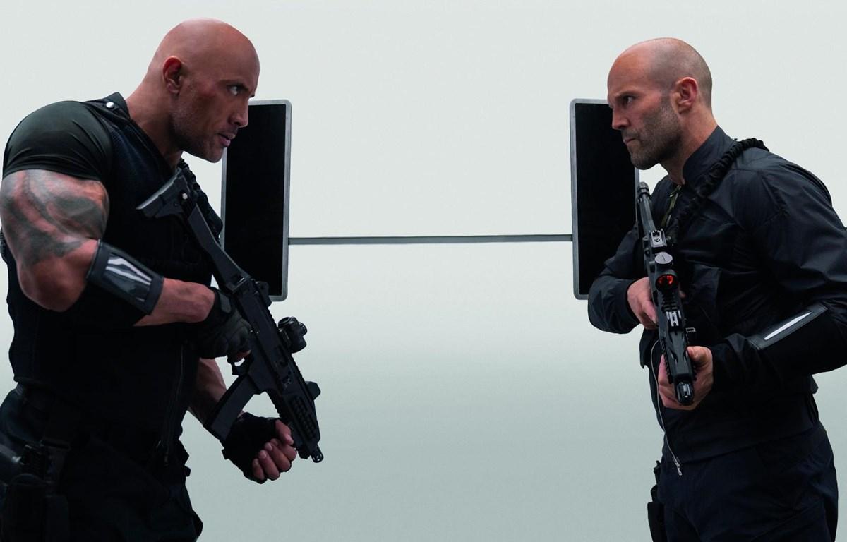 Dwayne Johnson và Jason Statham chứng tỏ được phong độ vững vàng trong dòng phim tốc độ và hành động (Nguồn: Universal)