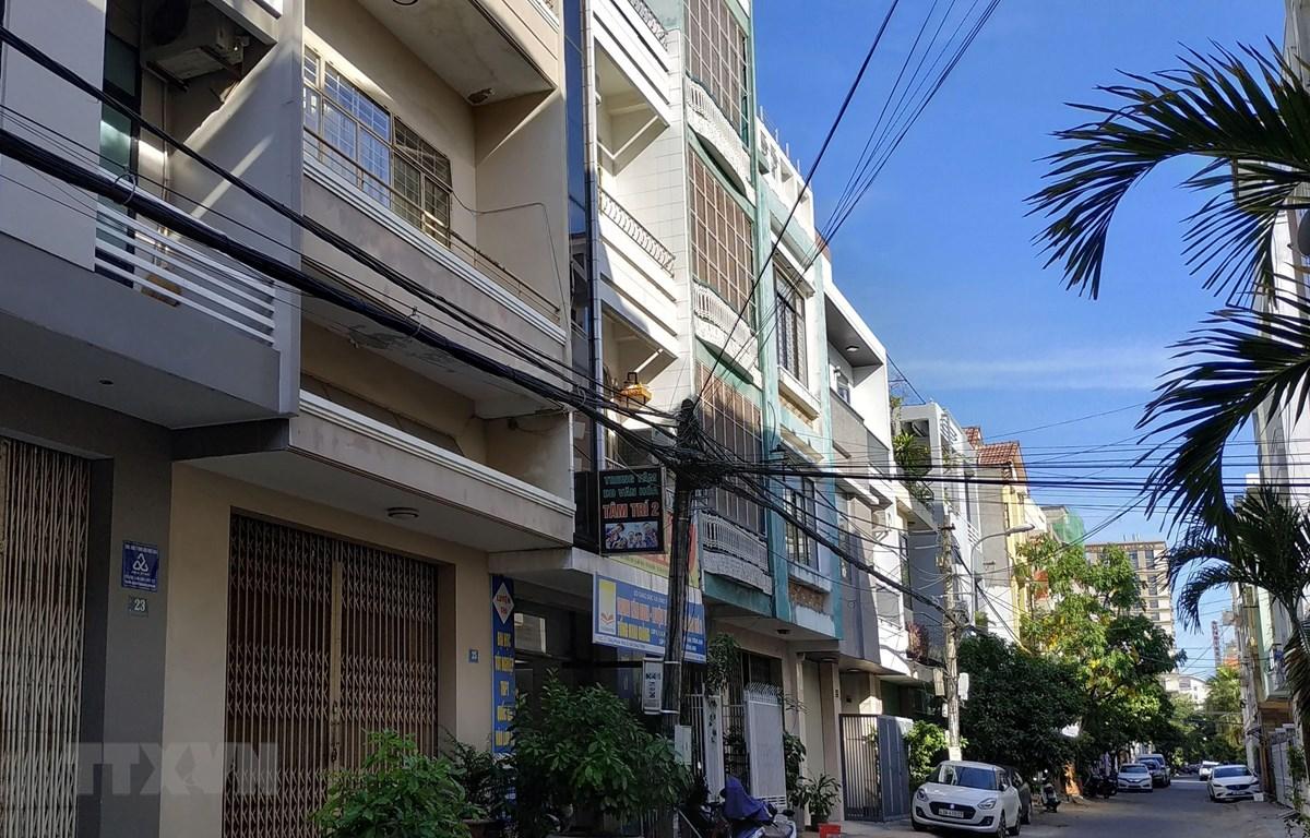 Căn nhà số 25 đường Tống Phước Phổ là của ông Trương Duy Nhất. (Ảnh: Quốc Dũng/TTXVN)