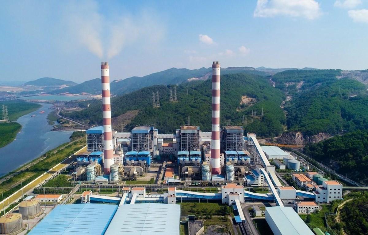 Nhà máy Nhiệt điện Quảng Ninh. (Ảnh: Trung Nguyên-Nguyễn Quý/TTXVN)