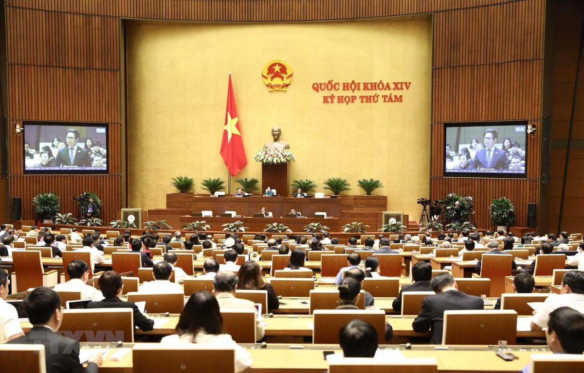 Đại biểu Quốc hội tỉnh Thái Bình Vũ Tiến Lộc phát biểu. (Ảnh: Văn Điệp/ TTXVN)