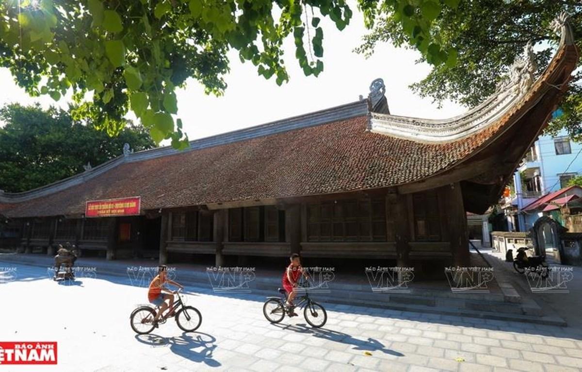 Đình làng Đình Bảng tọa lạc tại phường Đình Bảng, thị xã Từ Sơn, Bắc Ninh. (Nguồn: Báo ảnh Việt Nam)